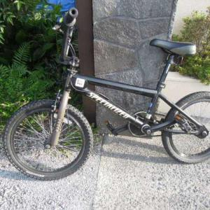 自転車が・・乗れる・・嬉しい