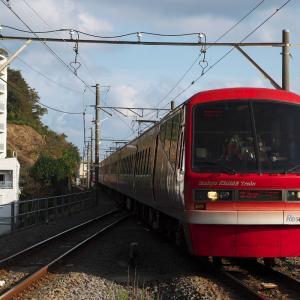 キンメ電車が往く