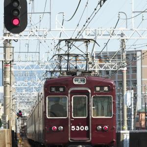 阪急5300系、バックショット