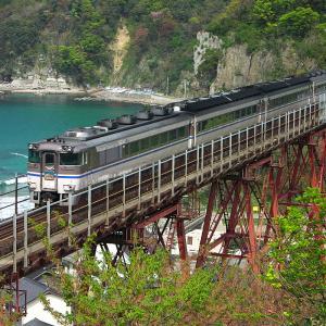 【TIMEMACHINE -032-】余部鉄橋を渡るキハ181系はまかぜ