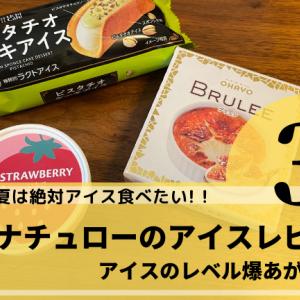 ナチュラルローソンで買える本格派アイス3選【BRULEE(ブリュレ)が本当におすすめ!】