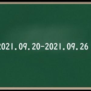 わたしのウォーキング記録(2021・9月④)