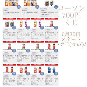 6月30日!お試し引換券祭&700円くじスタート( ¨̮ )
