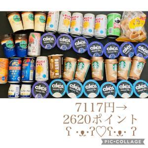 お試し引換券祭( ¨̮⋆)7117円→2620ポイント