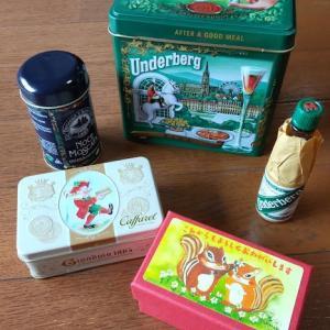 パケ買いの楽しみ。ウンダ―ベルグの缶はお宝。と自慢の缶コレクション