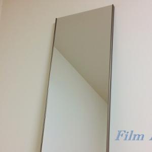割れない鏡「フィルムミラー」を使ってみて感じたメリットとデメリット