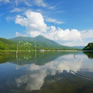 夏の白樺高原と女神湖~祈り~