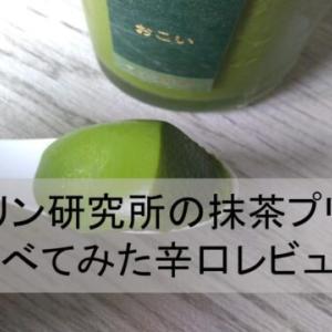 【高級スイーツ】プリン研究所の抹茶プリン食べてみた辛口レビュー