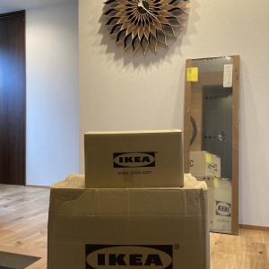IKEA購入品♪初めてネット注文しました。卓上ミラー、耐熱グラス、キャンドルホルダーご紹介