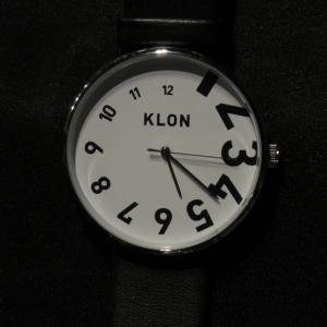 腕にミニマムアートを|KLON EDDY TIME BLACK 40mm