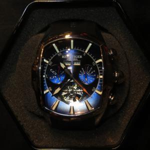 派手な機械式時計好きには堪らない「Reef Tiger RGA3069」1000分の1の価格でチャイナ時計愛好家からはコアな人気