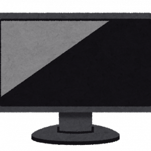 部屋が狭くてもモニターを付けて広い画面でPCができる