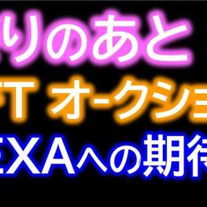 与沢 翼(TSUBASA YOZAWA)のツイートNFTオークション 入札の感想とHEXAの課題を辛口レビューします!