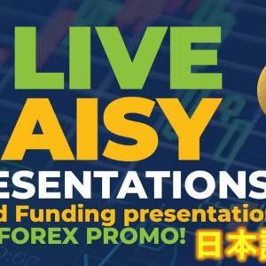 【デイジーFX】 D.ai.sy Croud Funding presentation and NEW FOREX PROMO! October17th 日本語字幕付き