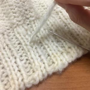 編み物のコツ 最後の糸始末 糸の残りが短いときはどうしよう?