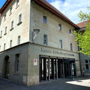 🇨🇭印刷の歴史が学べる「Musée Gutenberg (印刷博物館)」