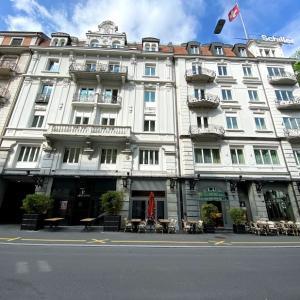 🇨🇭【BONVOY】コロナ禍の「Renaissance Lucerne Hotel(ルネッサンス ルツェルン ホテル)」のデラックスルーム
