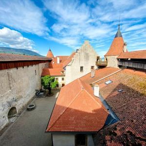 🇨🇭無敵の国「スイス」と言われるきっかけになった戦いの場所「Château de Grandson(グランソン城)」で色々学んだ日