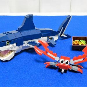 LEGO 31088 深海生物 サメ 3in1 クリエイター