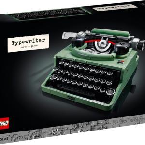 LEGO公式オンラインストア 21327 タイプライター VIP会員先行販売中