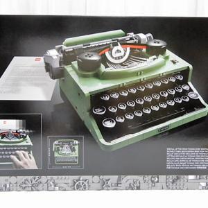 LEGO 21327 アイデア タイプライター ①~④