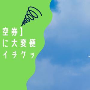 【格安航空券】急な帰省に大変便利なスカイチケット