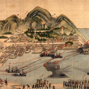 箱館戦争当時の様子が描かれた錦絵