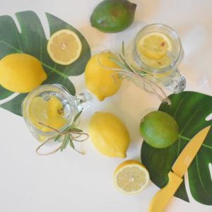 【簡単ダイエット】低糖質レモンゼリーの作り方