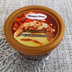 ハーゲンダッツ(アーモンドキャラメルクッキー)を食べてみた