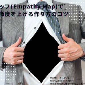エンパシーマップ(Empathy Map)でペルソナの解像度を上げる作り方のコツ