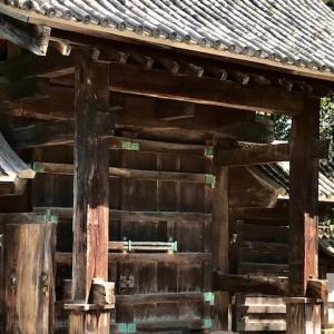 緊急SOS!池の水ぜんぶ抜く大作戦でも紹介 山口城跡、旧山口藩庁門