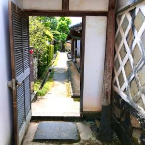 萩藩御用達の豪商「菊屋家住宅」の庭園