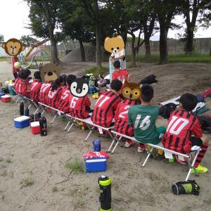 今日は快晴☀️.°☀カラッと晴れてサッカー日和