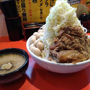 限界突破ワンサウザンド!二郎祭りで麺1kg超え あっぱれ弥富店