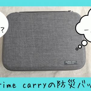 【PR】レビュー 一人暮らしの子供に!玄関にオシャレな防災バッグ