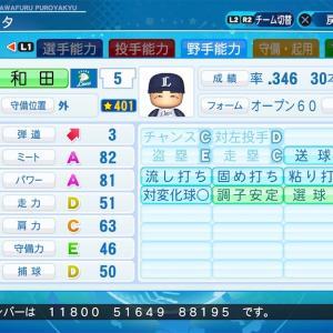 パワプロ2020【西武】和田一浩