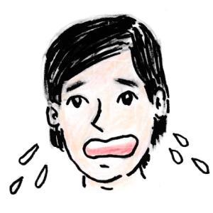 【再就職準備】顔を洗って驚いた。