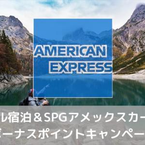 【8月31日まで先着150,000名】対象ホテル宿泊&SPGアメックスカード利用でボーナスポイントキャンペーン
