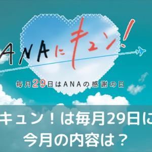 【7月29日限定】ANAにキュン!は毎月29日に開催。今月の内容は?