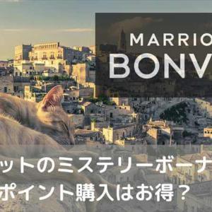 【2021年9月】マリオットのミステリーボーナスキャンペーンが9月25日まで実施。ポイント購入はお得?