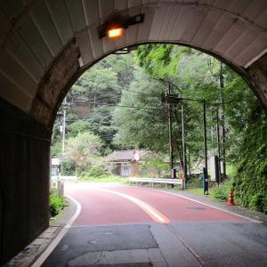 暇つぶしにマジェスティSで奥多摩駅~丹波山 バス路線 その27(トンネルを抜けるとそこは、民家3軒集落)