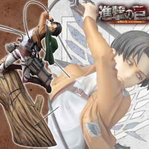 【再販】ARTFX J 進撃の巨人 リヴァイ リニューアルパッケージver. 1/8 完成品フィギュア(コトブキヤ)