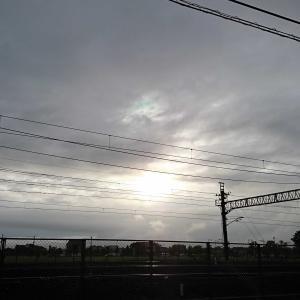 田園線、夕暮れ