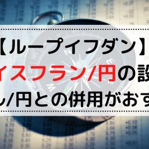 【ループイフダン】スイスフラン/円の設定【豪ドル/円との併用がおすすめ】