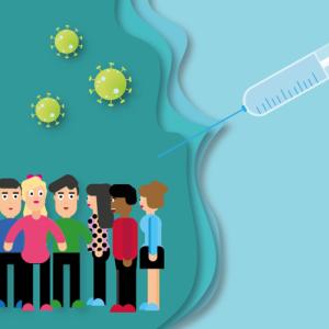 コロナウイルスのワクチン接種してきました