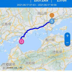 放浪の旅72日目 岡山→広島→今治(愛媛)