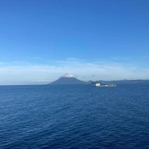 放浪の旅110日目 船→鹿児島