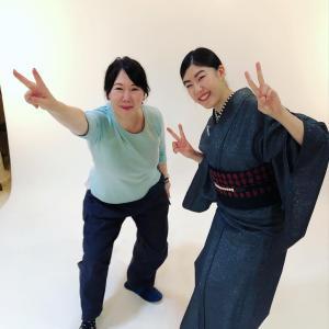 プロカメラマンによる着物モデル撮影会、笑顔で完!