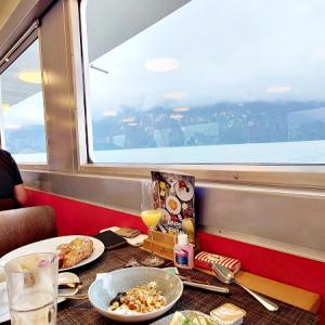 【スイス】水の都 ルツェルンでブランチクルーズを堪能!優雅に遊覧しながらの食事が人気、事前予約から船内まで一挙公開