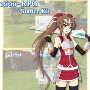 【Unity】Action-RPG Starter Kitの使い方【Asset】